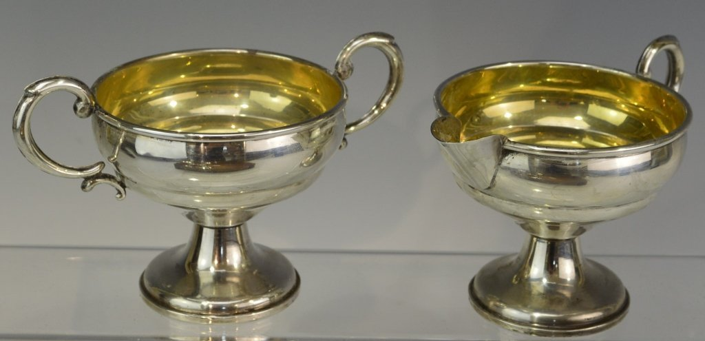 Sterling Silver Tableware Grouping - 4