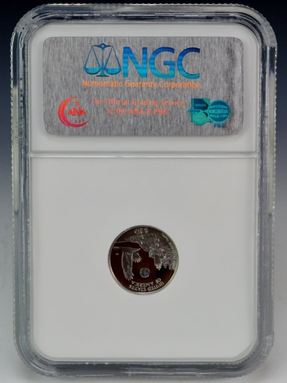 1998 W Eagle Platinum Coin $10 NGC PF69 - 2
