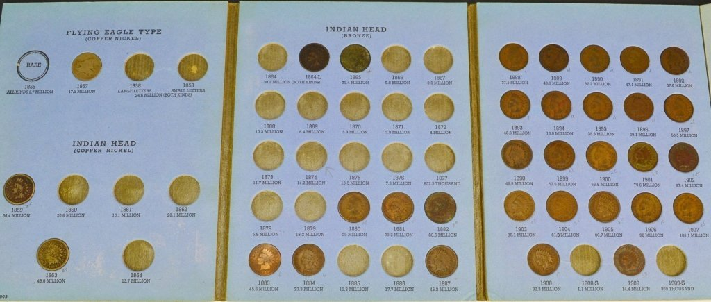 Indian Head Cent Grouping