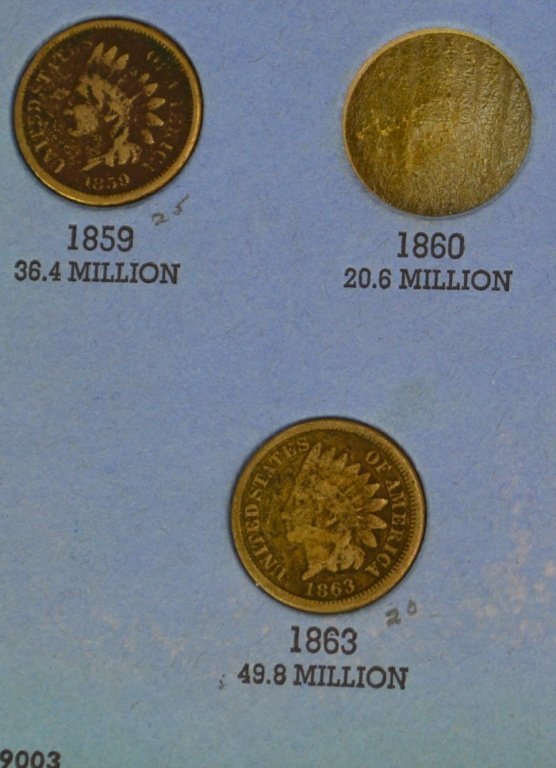 Indian Head Cent Grouping - 3