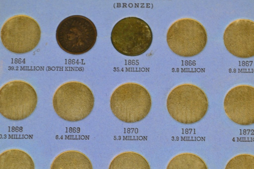 Indian Head Cent Grouping - 4