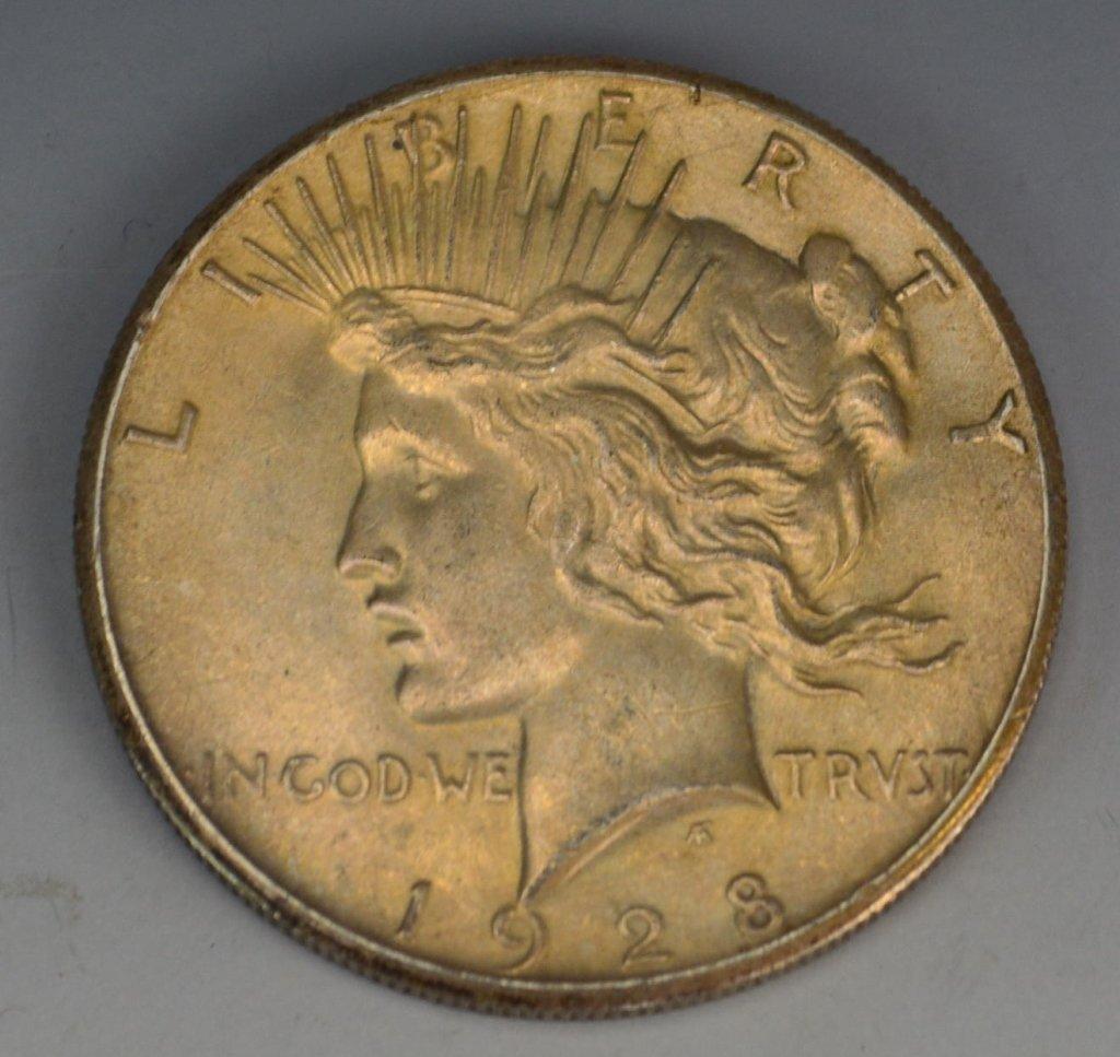 1928 Silver Peace Dollar