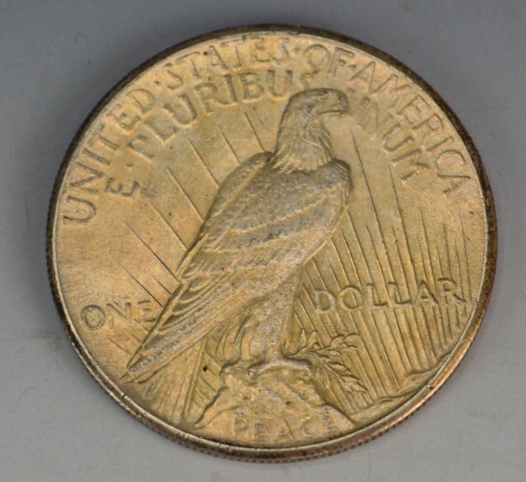 1928 Silver Peace Dollar - 2