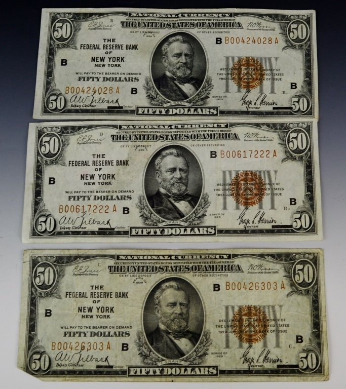 Early Silver Certificate and Currency Grouping - 4
