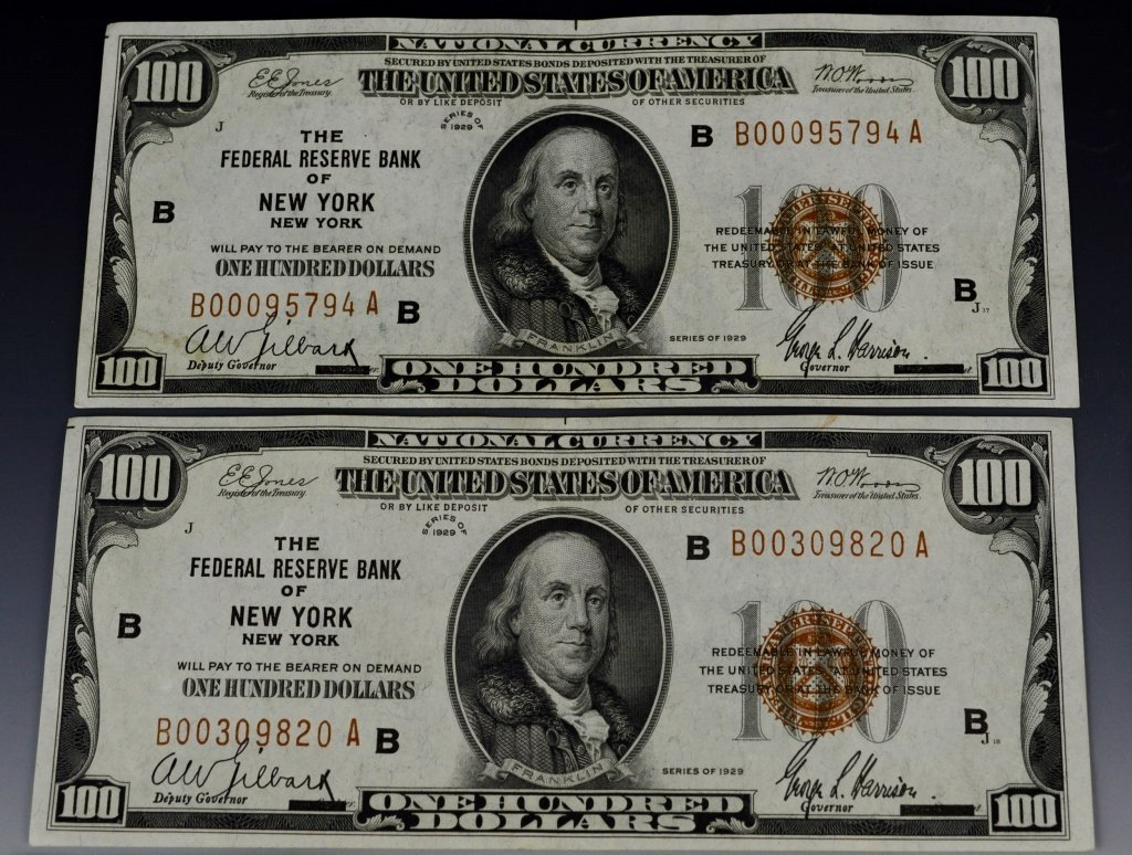 Early Silver Certificate and Currency Grouping - 6