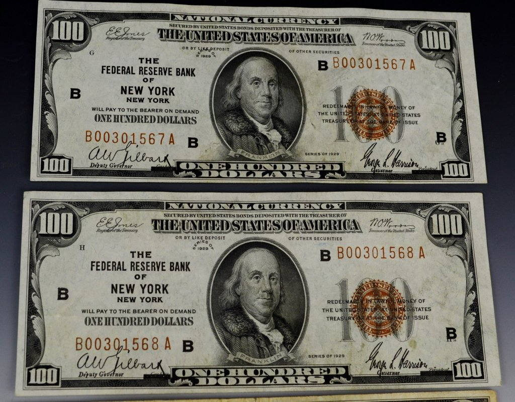 Early Silver Certificate and Currency Grouping - 7