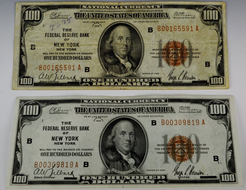 Early Silver Certificate and Currency Grouping - 8