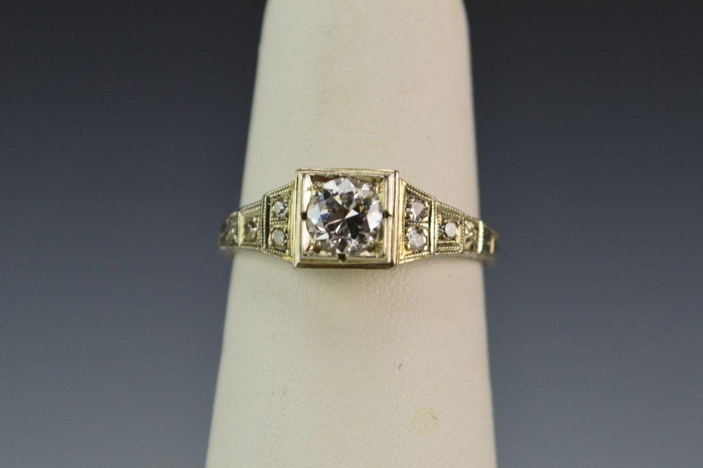 18K WG Diamond Ring - 3