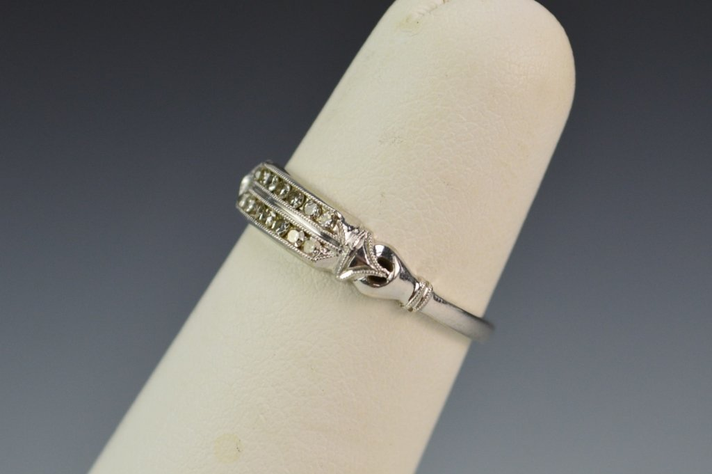 18K WG Diamond Ring - 2