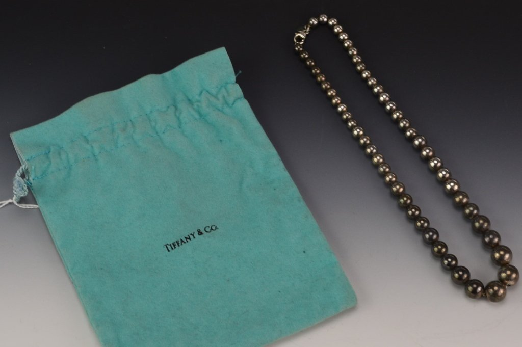 Tiffany and Co. Sterling Silver Necklace