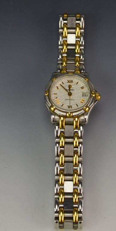 Concord Saratoga Ladies MOP Dial 18K Gold & SST