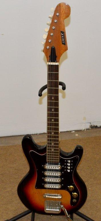 Heit Deluxe Electric Guitar - 2