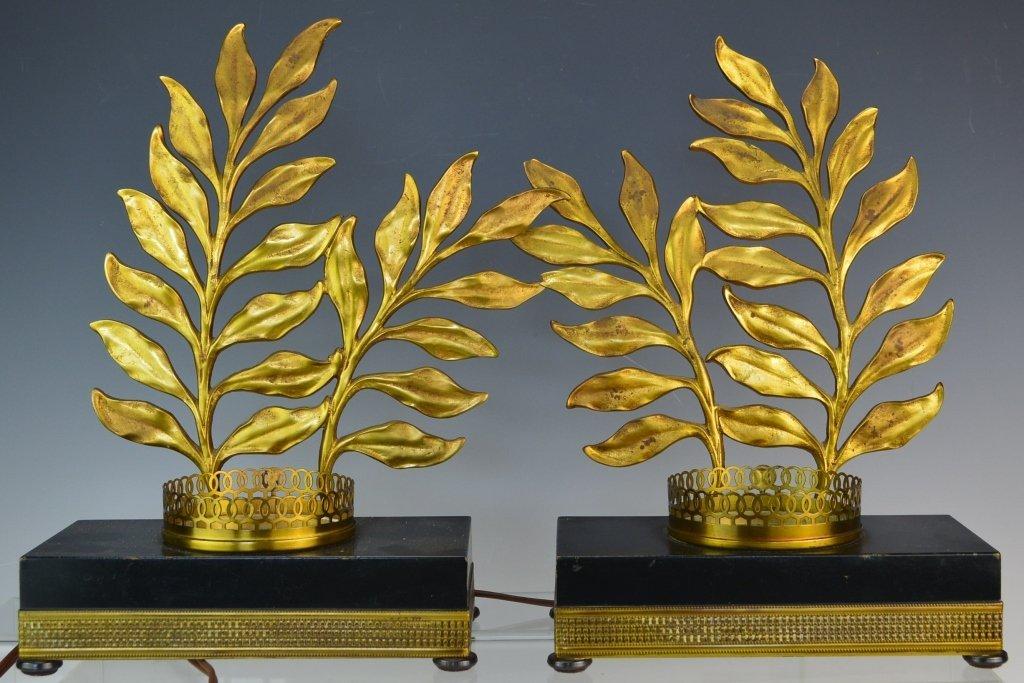 Glit Decorated Illuminated Bases Murano Glass