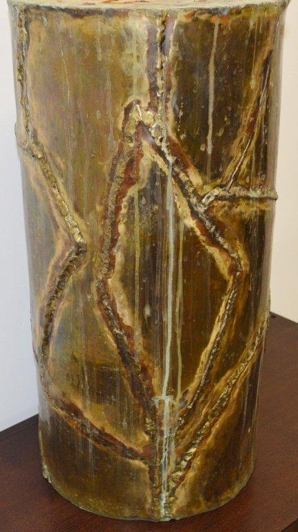 Silas Seandel Modern Copper Pedestal - 2