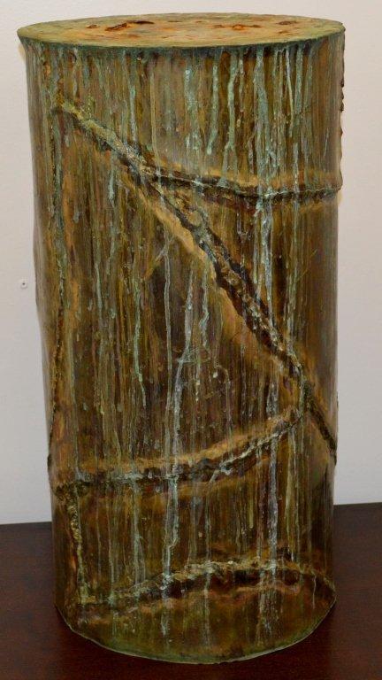 Silas Seandel Modern Copper Pedestal - 3
