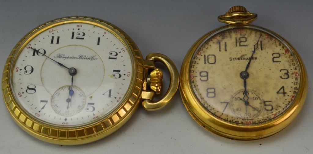 Hampden Watch Co. Pocket Watch Grouping