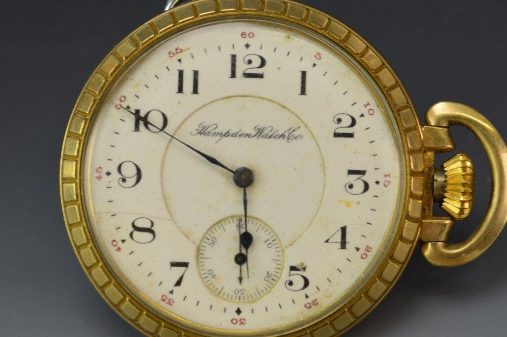 Hampden Watch Co. Pocket Watch Grouping - 3