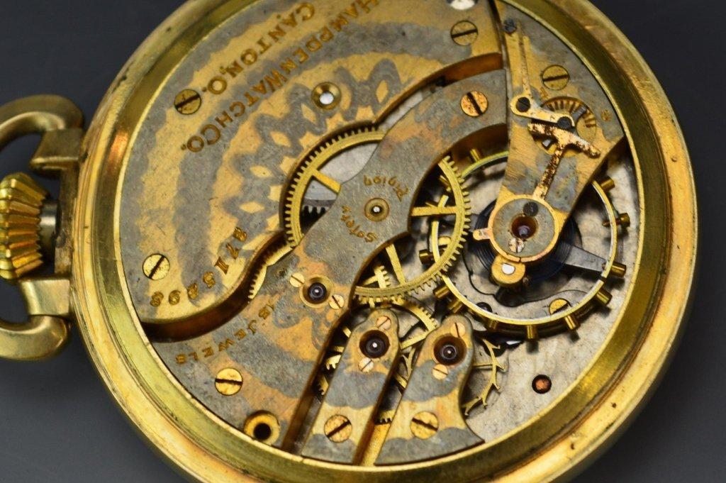 Hampden Watch Co. Pocket Watch Grouping - 4
