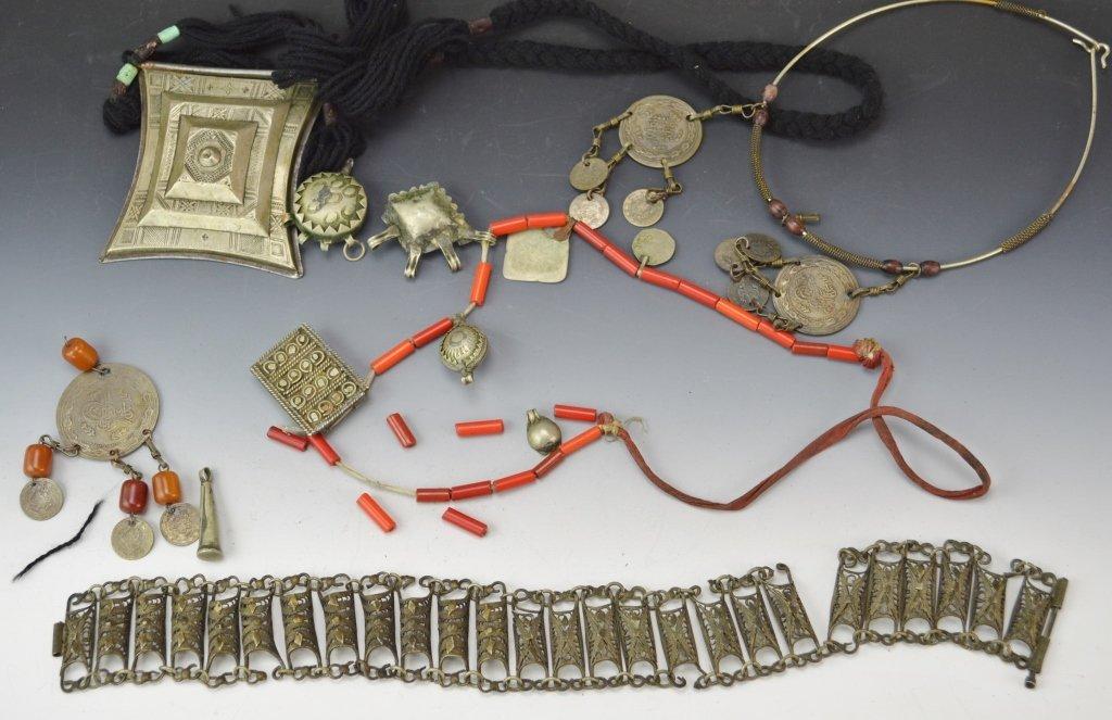 Persian or Ottoman Jewelry Lot
