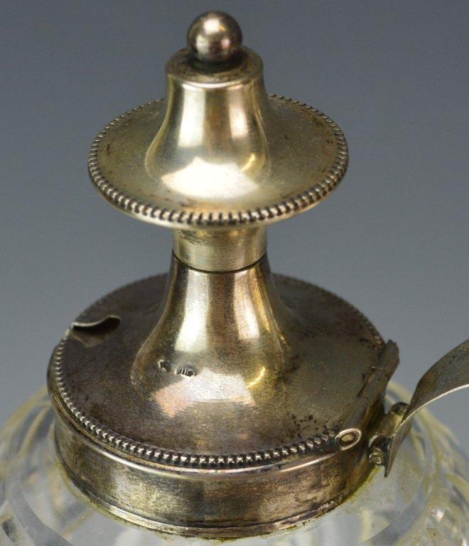Dutch Silver & Glass Muffineer Cruet Set - 2