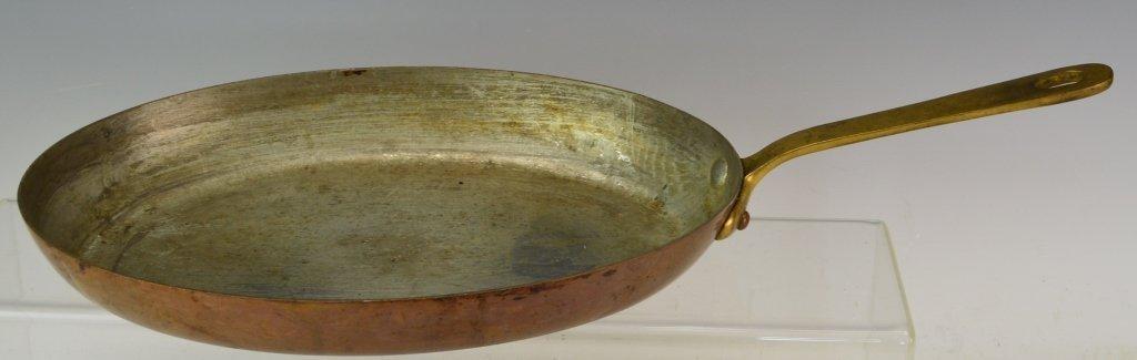 French Copper Au Gratin Pan