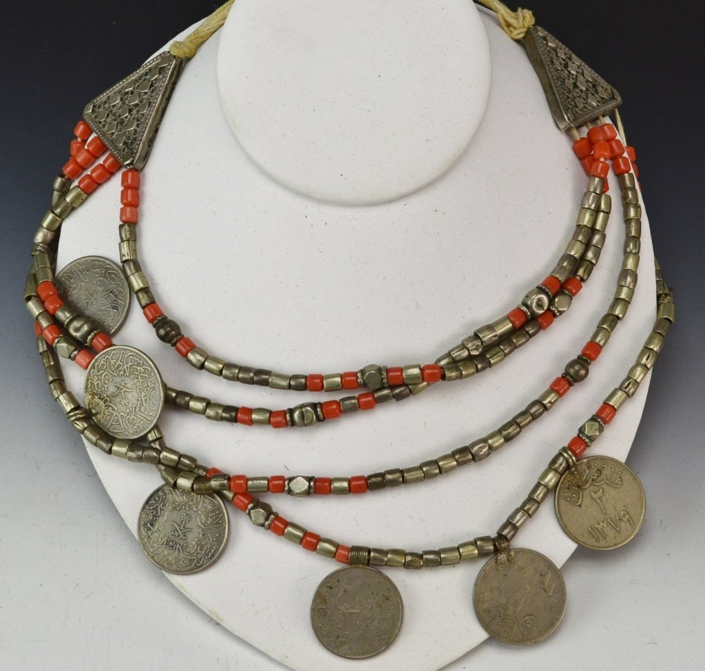 Persian Silver Coin Necklace