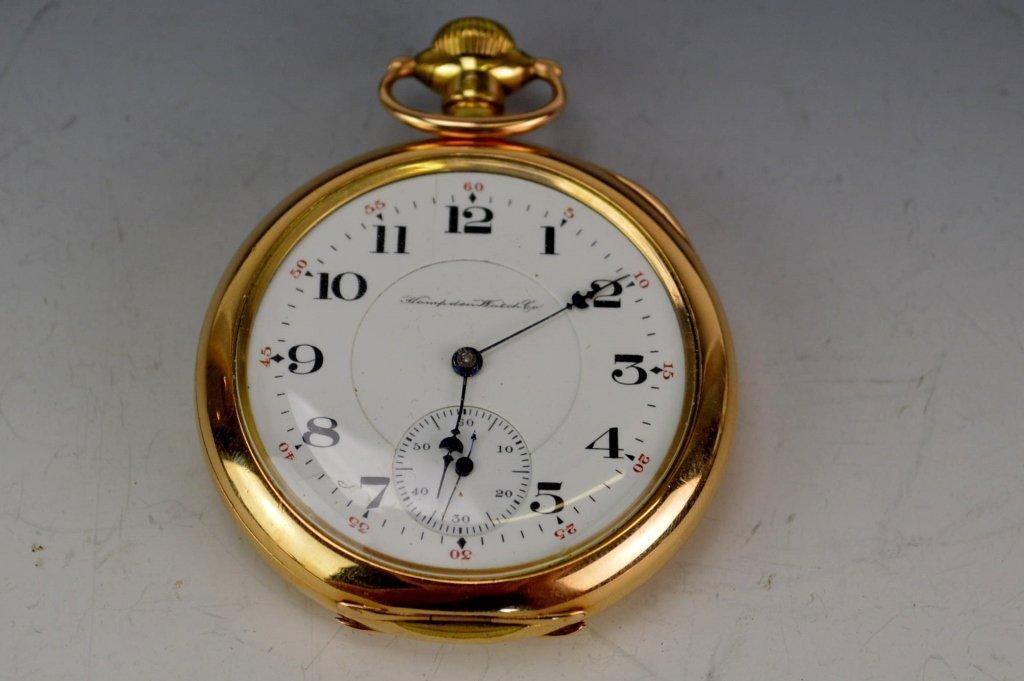 Hampden Gold Filled Pocketwatch