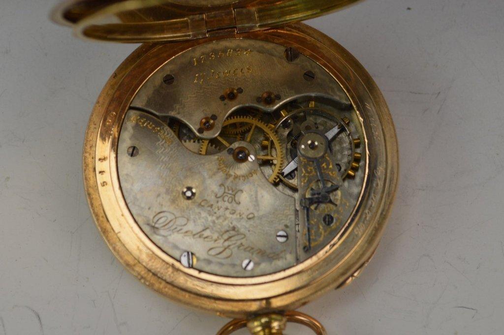 Hampden Gold Filled Pocketwatch - 3