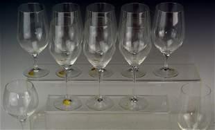 Rosenthal Crystal Stemware Grouping