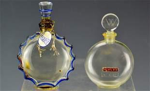 Lalique Perfume Bottle Grouping