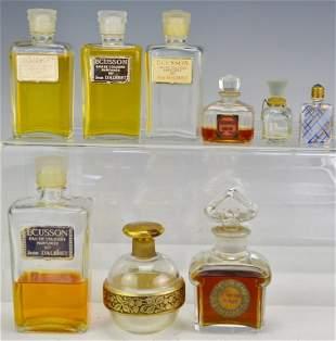 Vintage Perfume Bottle Grouping
