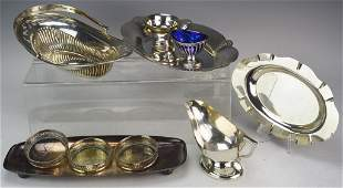 Silver Plated Tableware Grouping