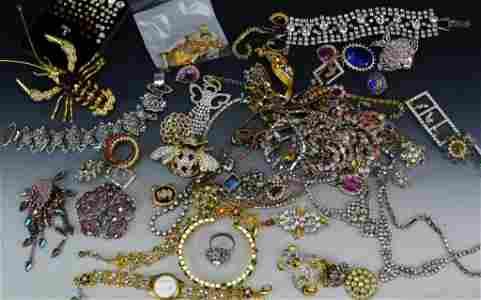 Rhinestone Jewelry Grouping