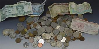 Foreign Silver Coin Grouping