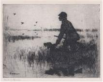 Frank W Benson 18621951 Duck Hunter