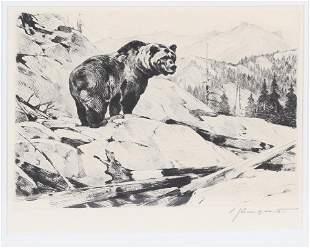 Carl Rungius (1869-1959), Silvertip