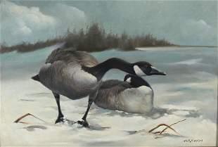 Arthur R. Eakin (20th Century), Two Paintings