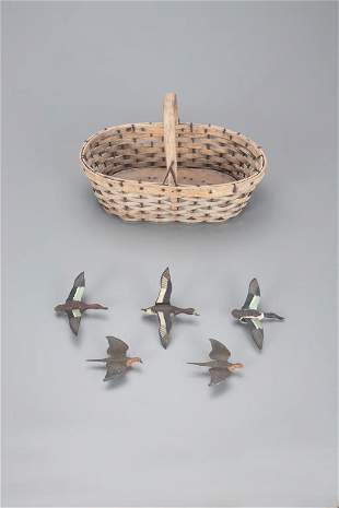 Five Miniature Flyers, Aubrey J. Dando (b. 1885)