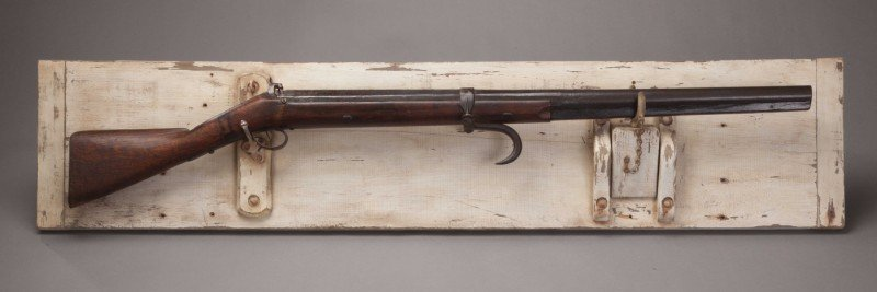 55: Punt Gun with Mount