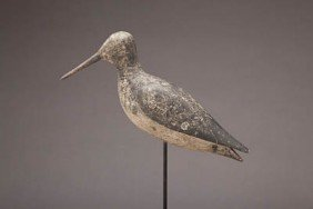 Hollow Turned Head Willet