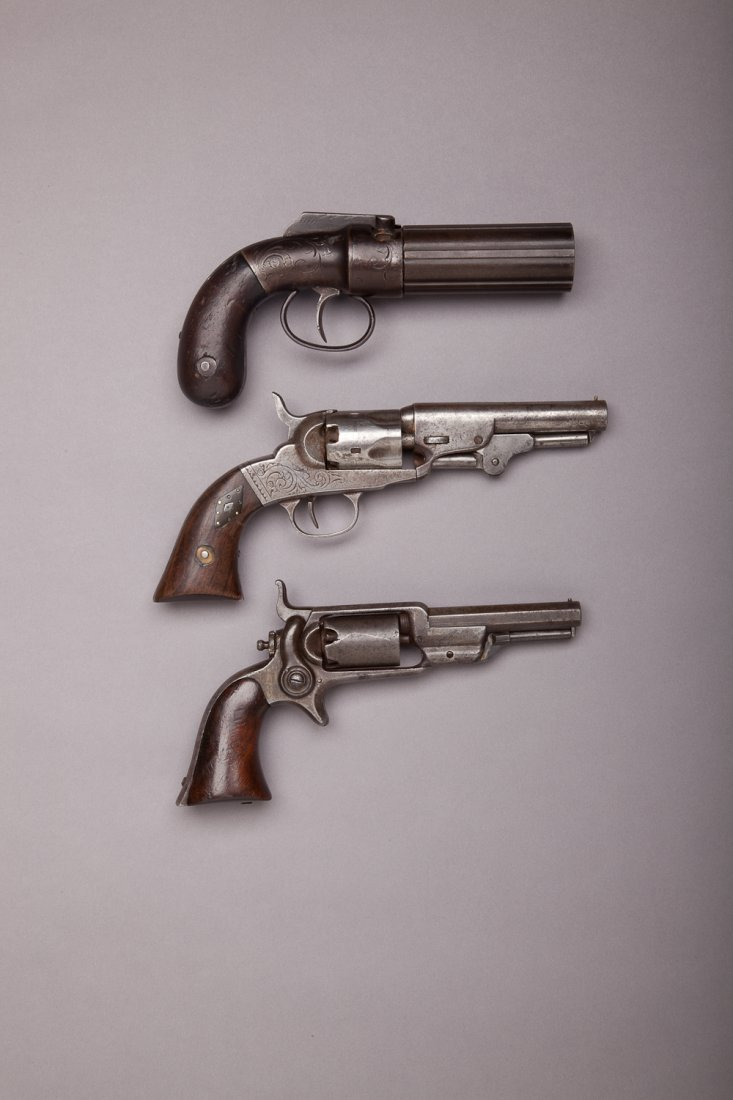 247: Three Antique Pistols