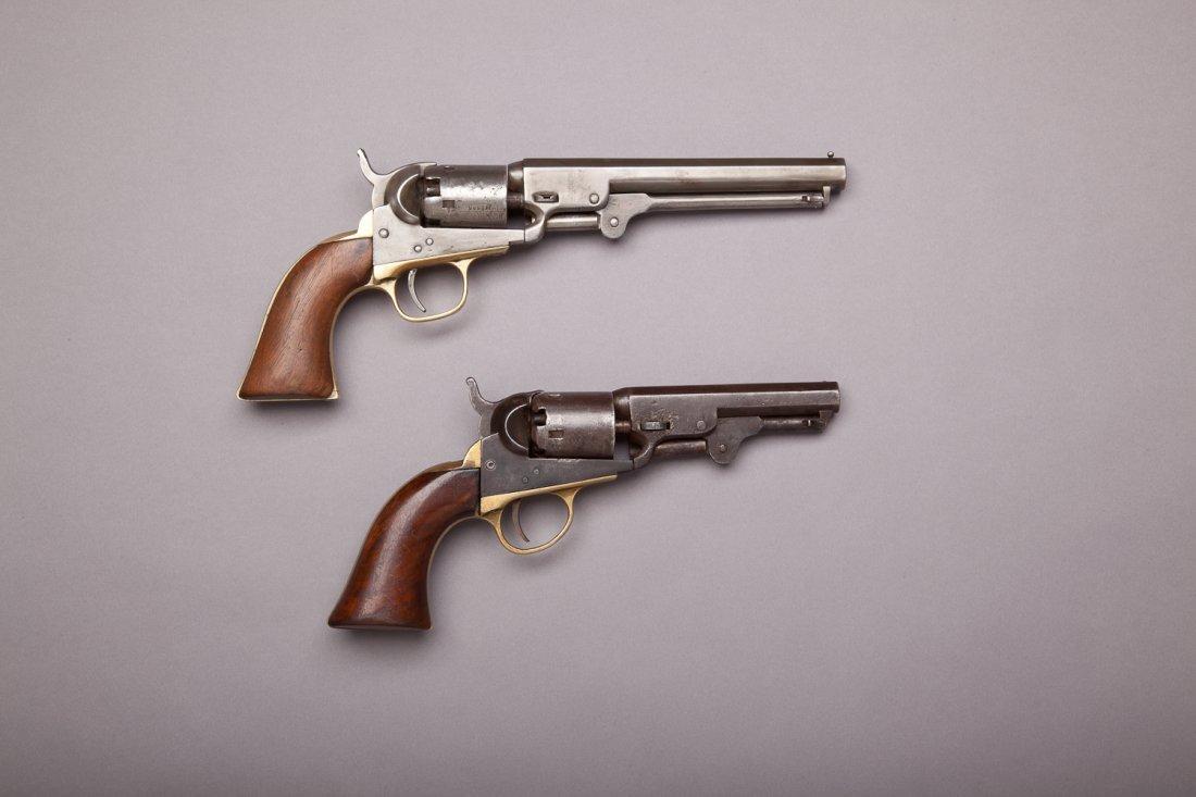 251: Two Colt 1849 Pocket Model Revolvers