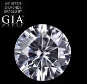 4.02 ct, Color H/VVS2, Round cut Diamond
