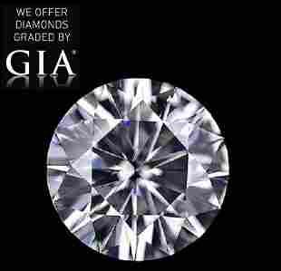 151 ct Color DVVS1 Round cut Diamond