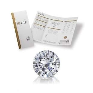 103 ct Color EVVS1 Round cut Diamond