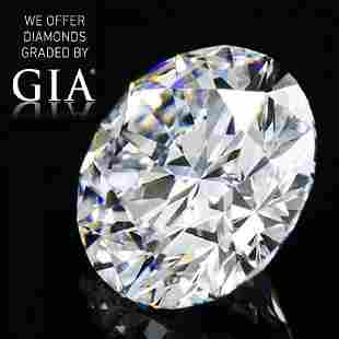 346 ct Color FIF Round cut Diamond