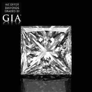 151 ct Color EVS1 Princess cut Diamond