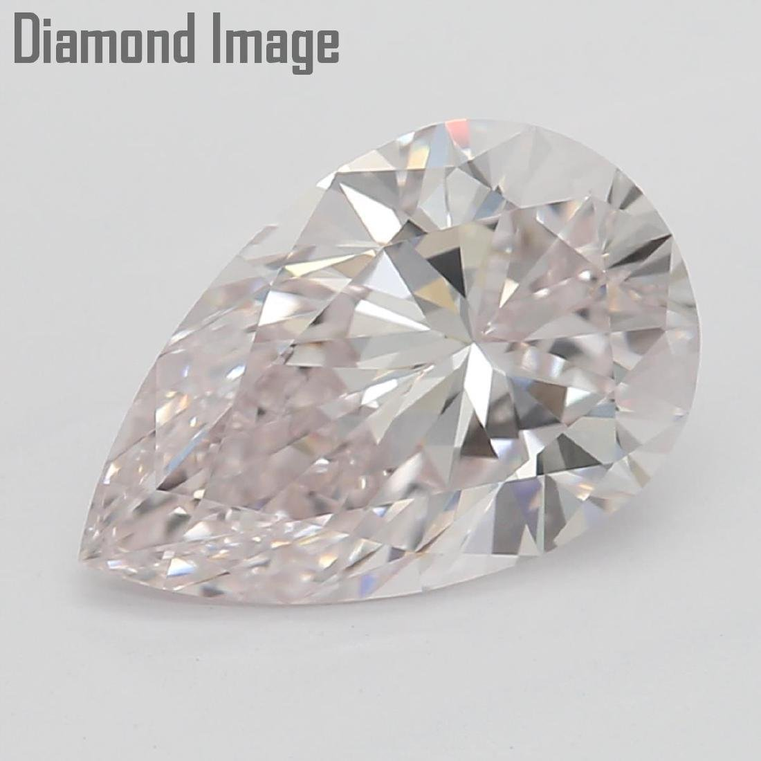 1.04 ct, Natural Color/IF, Pear cut Diamond