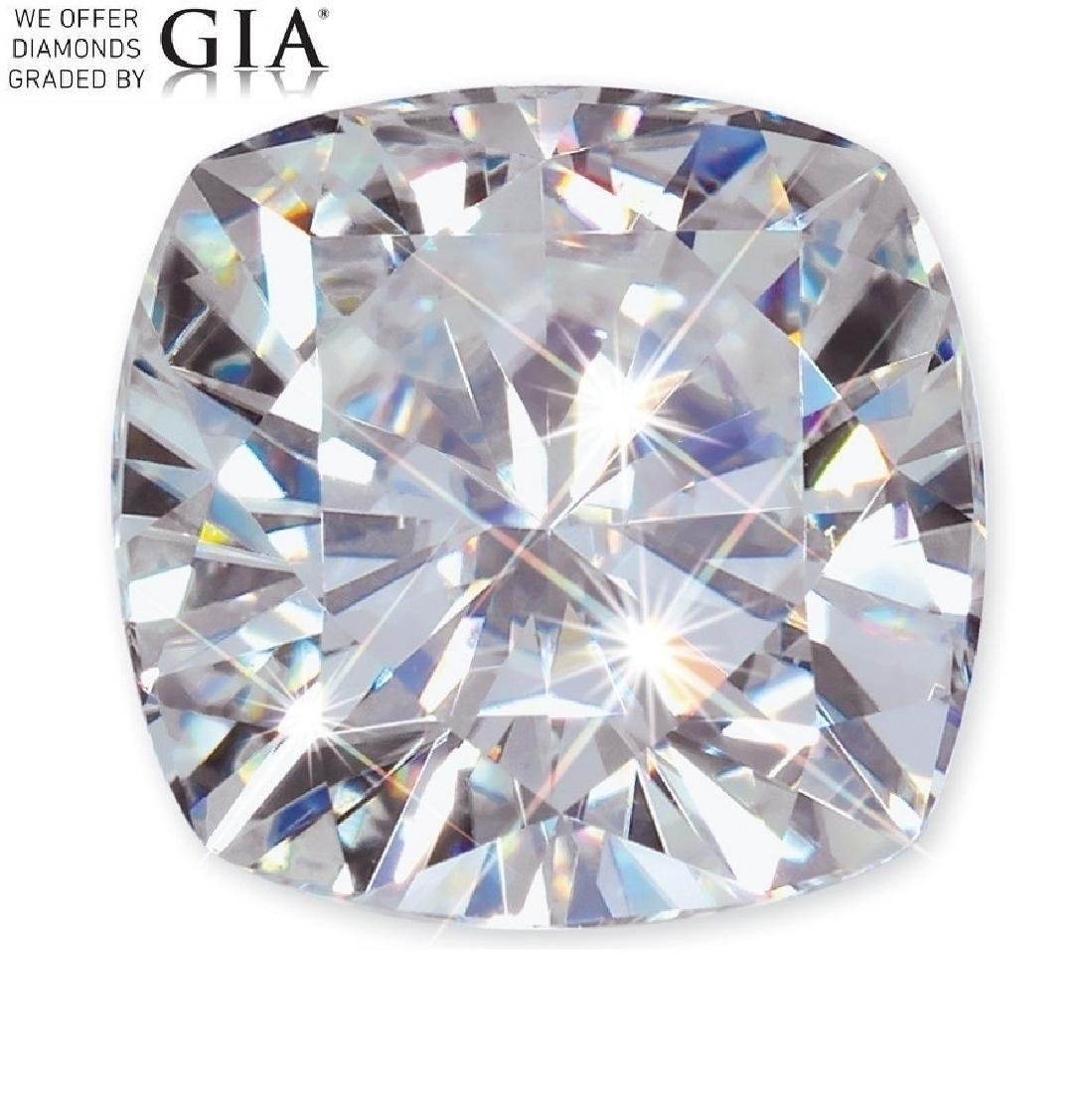 2.01 ct, Color F/VS1, Cushion cut Diamond