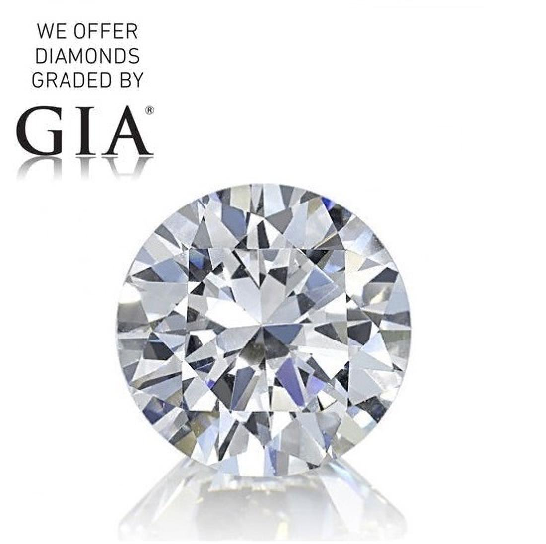 2.54 ct, Color G/IF, Round cut Diamond